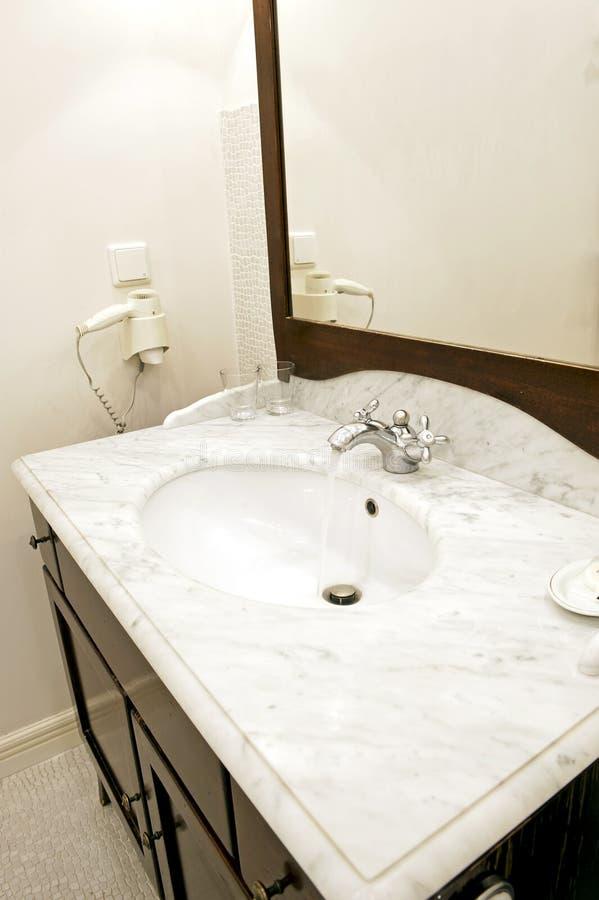 łazienka zlew fotografia royalty free