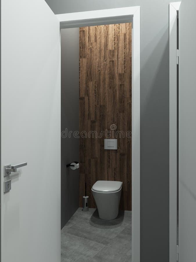 Łazienki loft nowożytny styl, 3D odpłaca się ilustracji