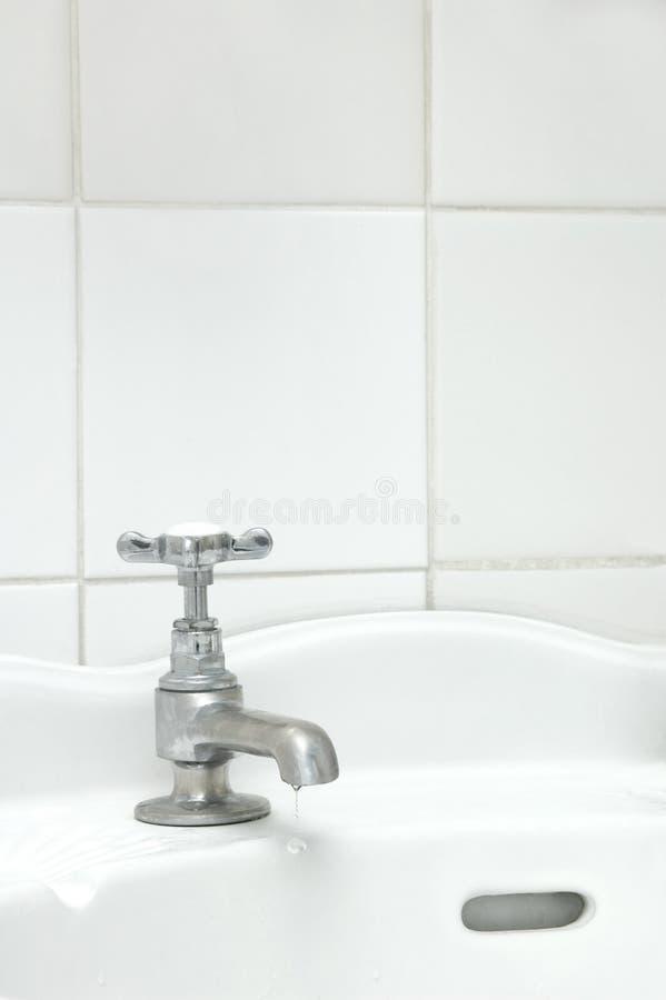 łazienki obcieknięcia klepnięcie obrazy royalty free