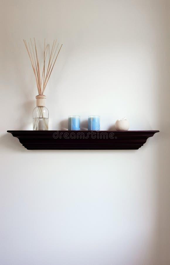 łazienki półka obraz stock