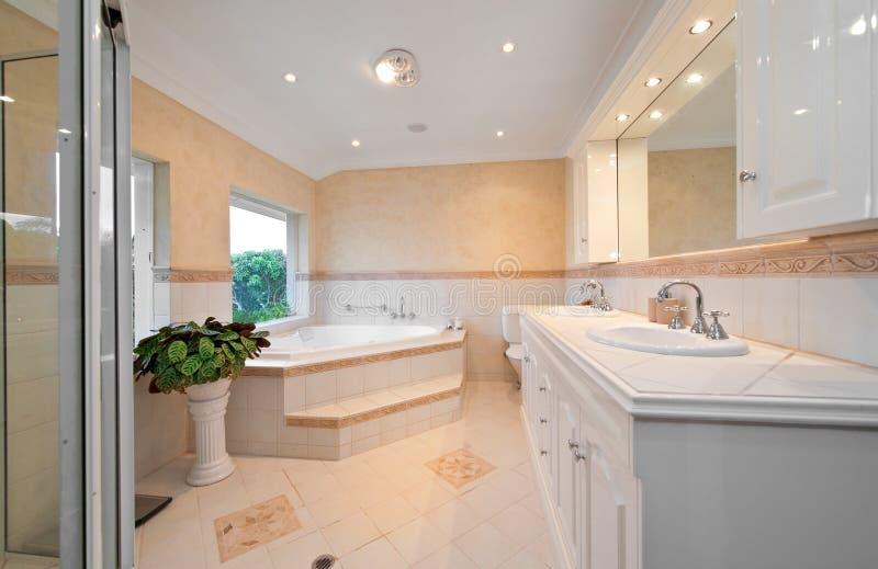 łazienki sauna obraz stock