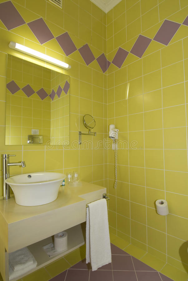 łazienki zimny colours lustra niecki wc obraz royalty free