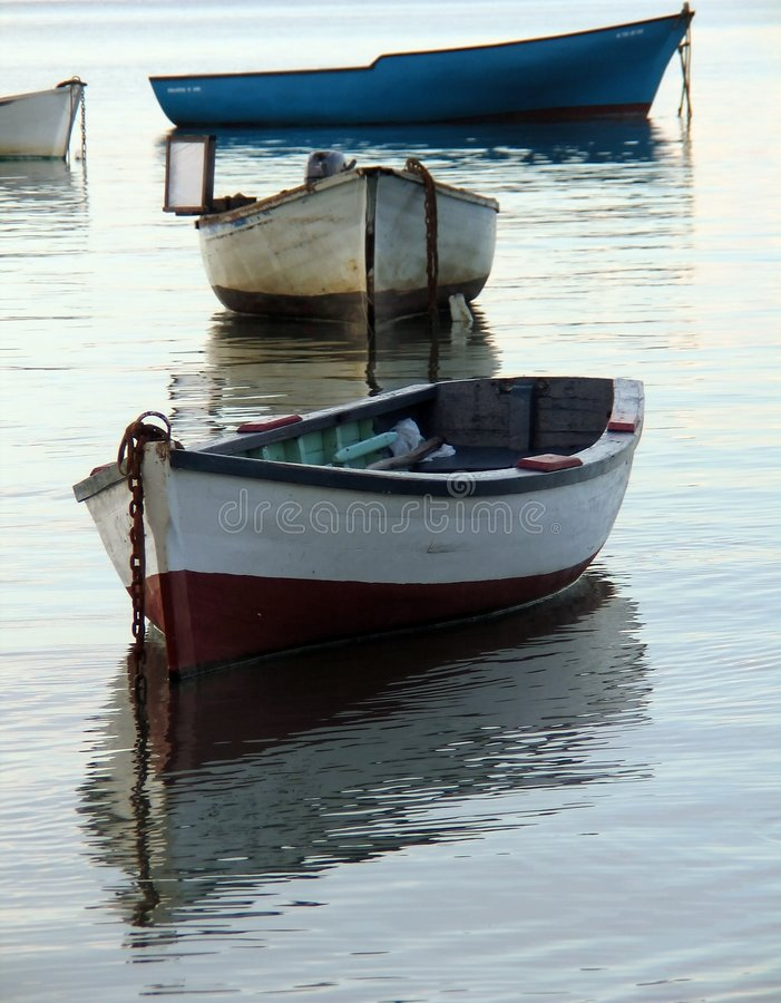 łodzie obrazy stock