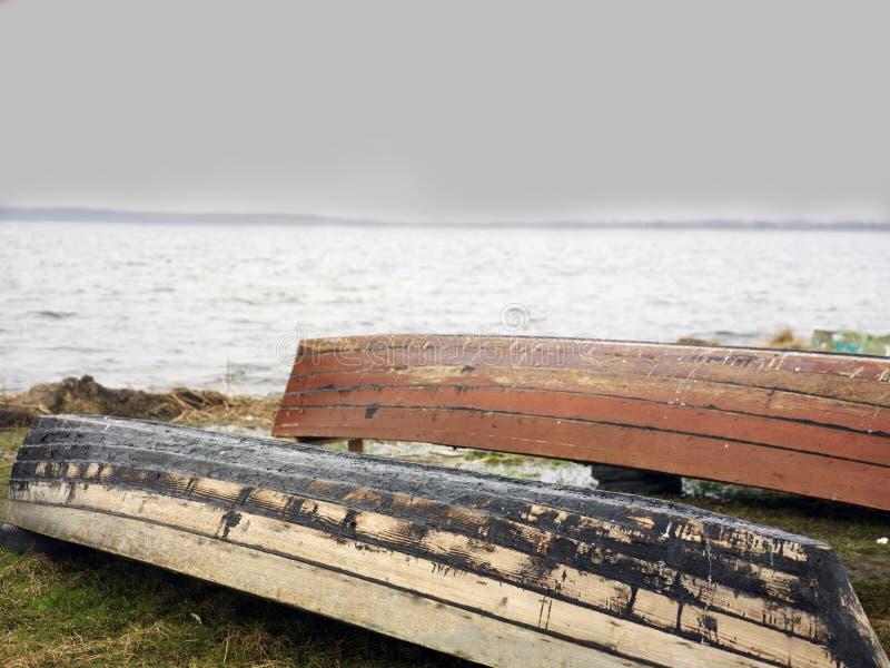 Łodzie I pogoda sztormowa zdjęcie stock