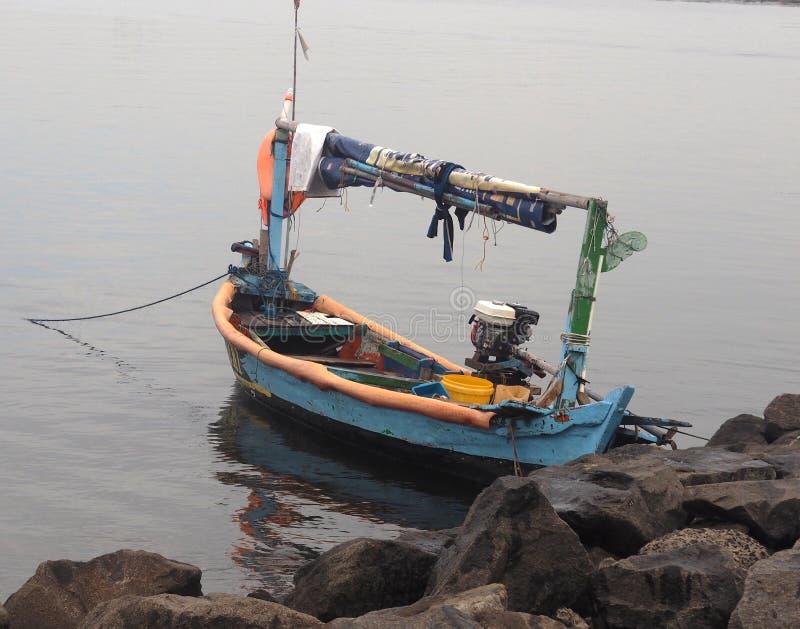 Łodzie rybackie które lądują zdjęcia stock