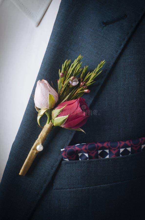 Łopotów kwiaty obraz stock