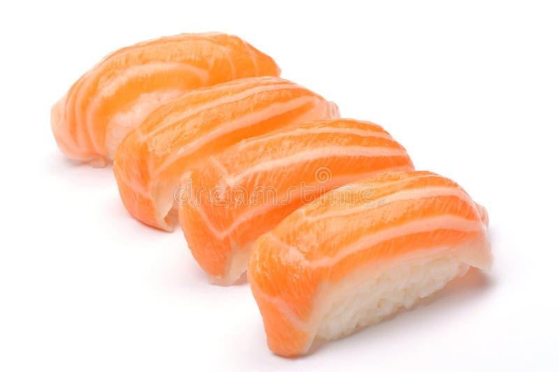 łososiowi sushis fotografia royalty free