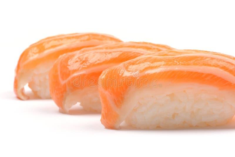 łososiowi sushis zdjęcie royalty free