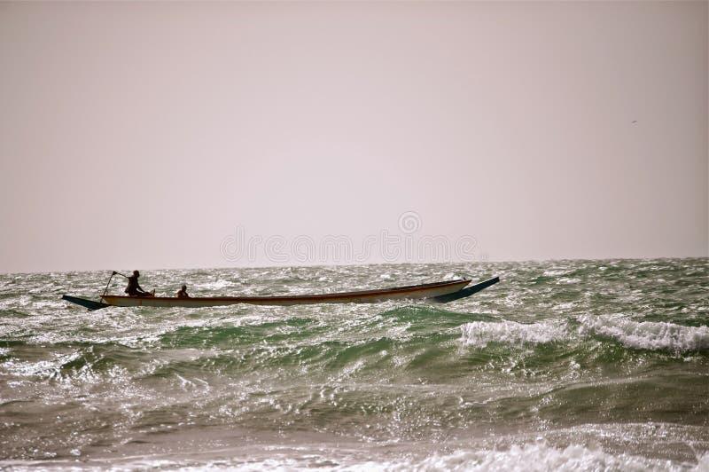Łowić w Atlantyk zdjęcie royalty free