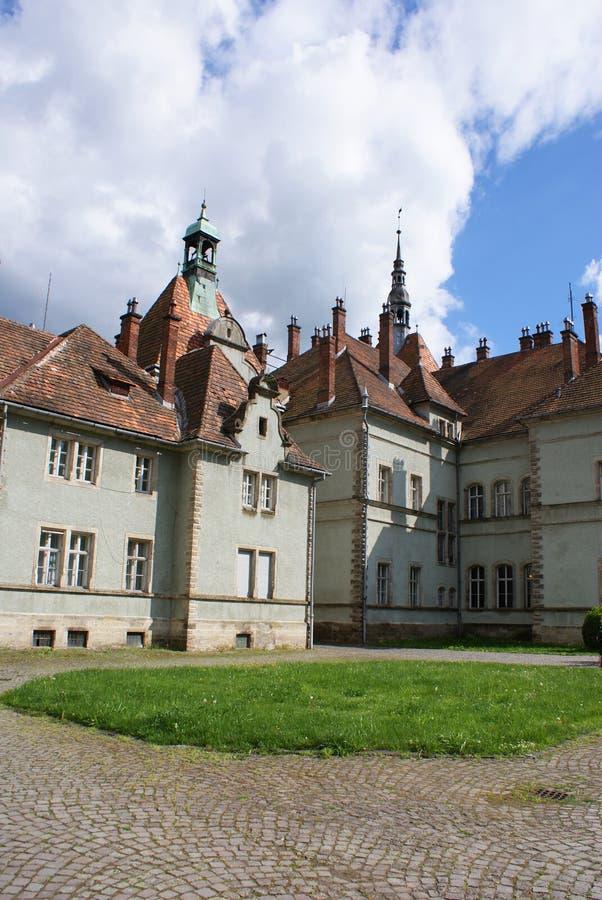 Łowiecki kasztel Hrabiowski Schonborn w Carpaty fotografia stock