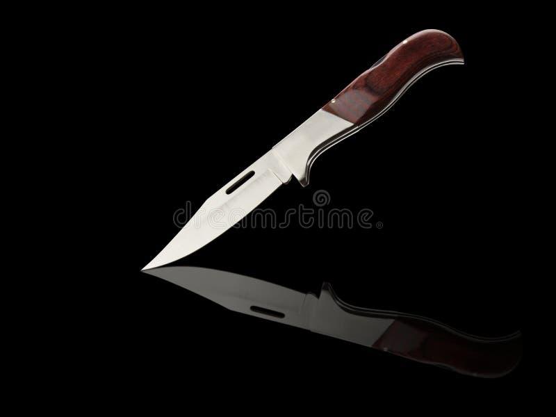 Łowiecki nóż obraz stock