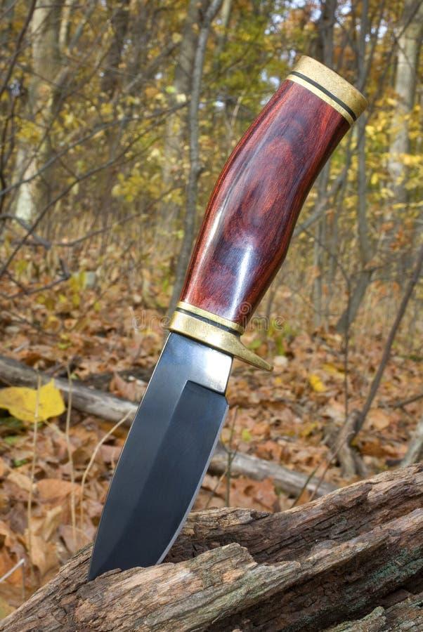 łowiecki nóż zdjęcie stock