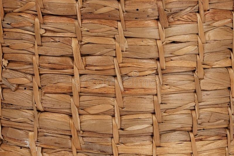 Łozinowego kosza tekstury tło zdjęcia stock