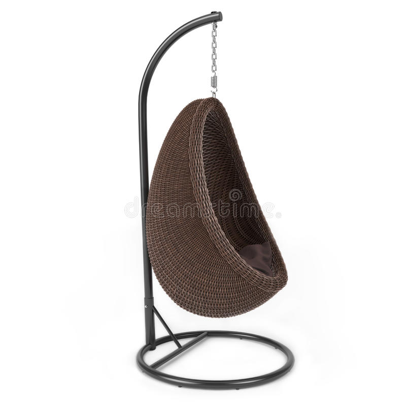 Download Łozinowy holu krzesło zdjęcie stock. Obraz złożonej z materiał - 53781642