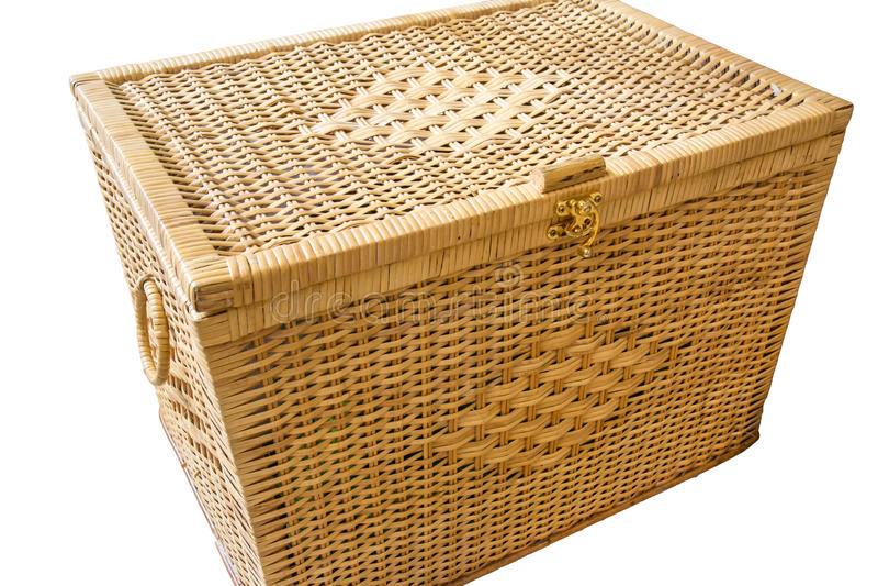 Łozinowy pudełko fotografia stock