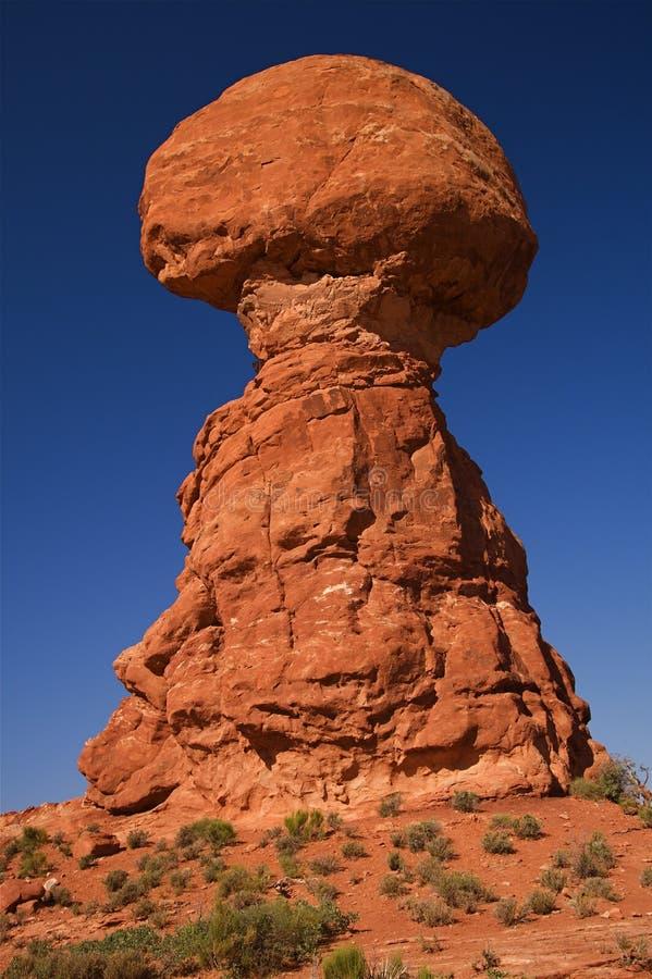 łuków czerwieni skała obraz royalty free