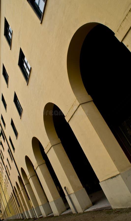 łuków target21_0_ fotografia stock
