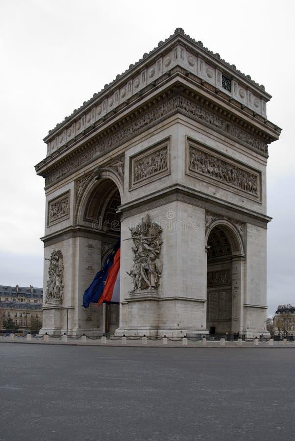 łuk De Triomphe obrazy stock