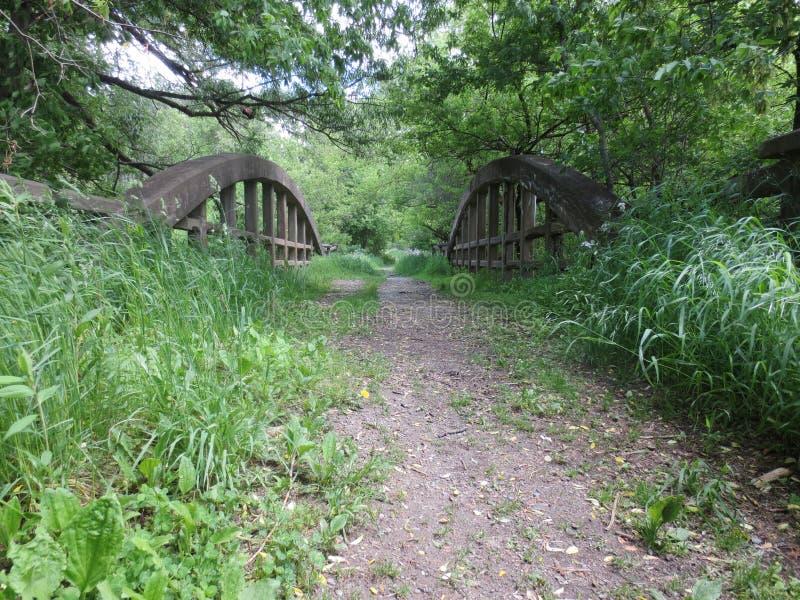 łukowaty bridżowy stary zdjęcie royalty free