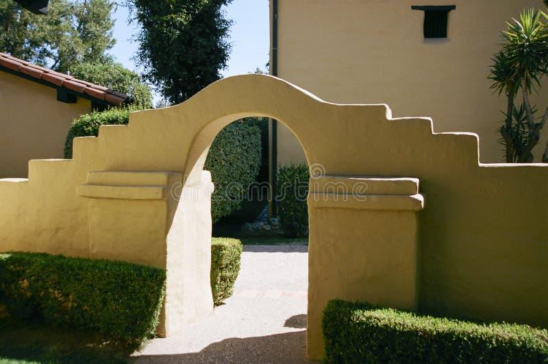 łukowaty wejścia zdjęcie stock
