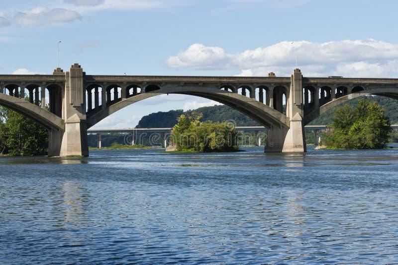 Łuku betonowy Most zdjęcie royalty free