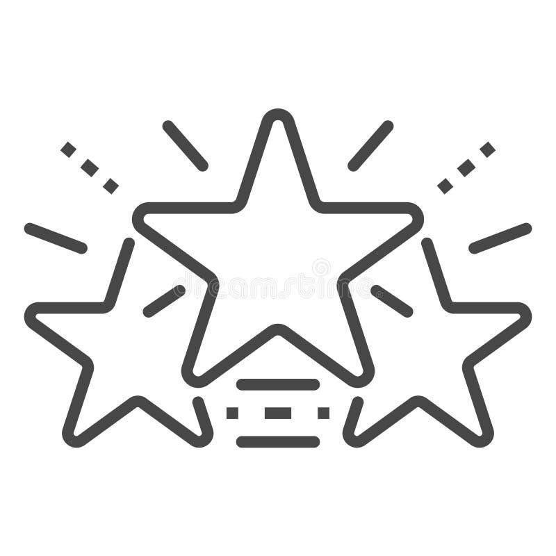 Łuna gra główna rolę ikonę, konturu styl ilustracji