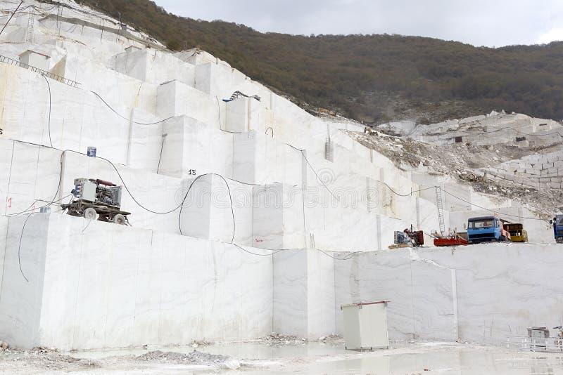 Łup bielu marmur obrazy stock