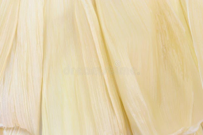 Łupa kukurydzany tekstury tło obrazy royalty free
