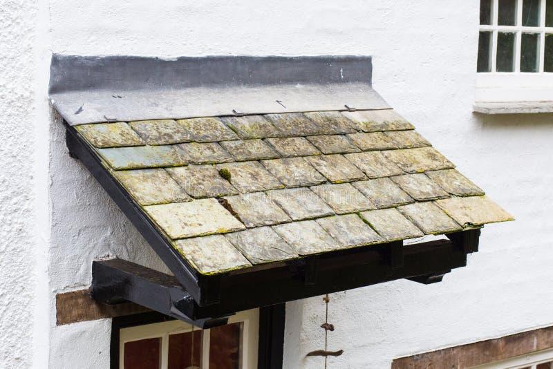 Łupkowy dach obrazy royalty free