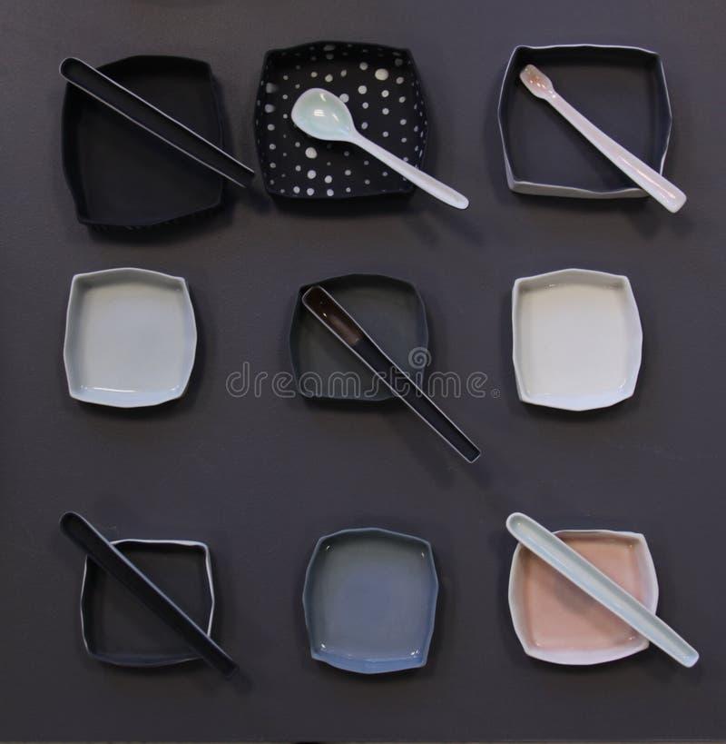 łyżki różnorodne zdjęcia stock