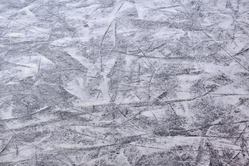 Łyżwiarski lodowy lodowisko fotografia stock