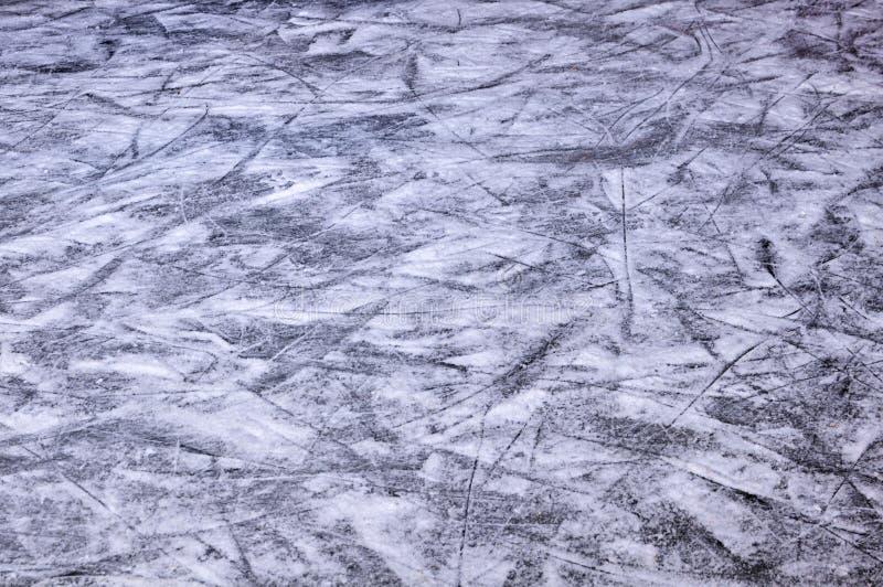 Łyżwiarski lodowy lodowisko obraz stock