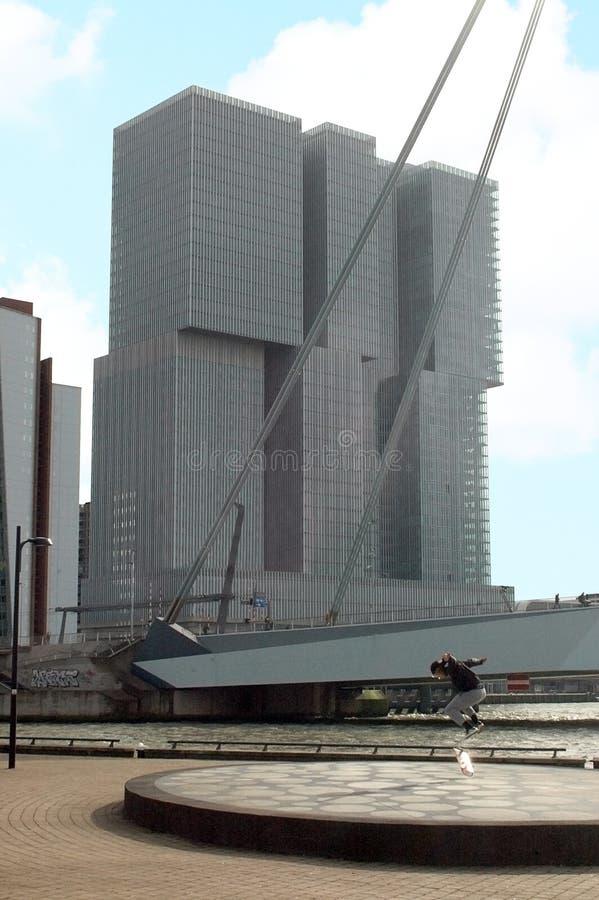 Łyżwowy Rotterdam obraz stock