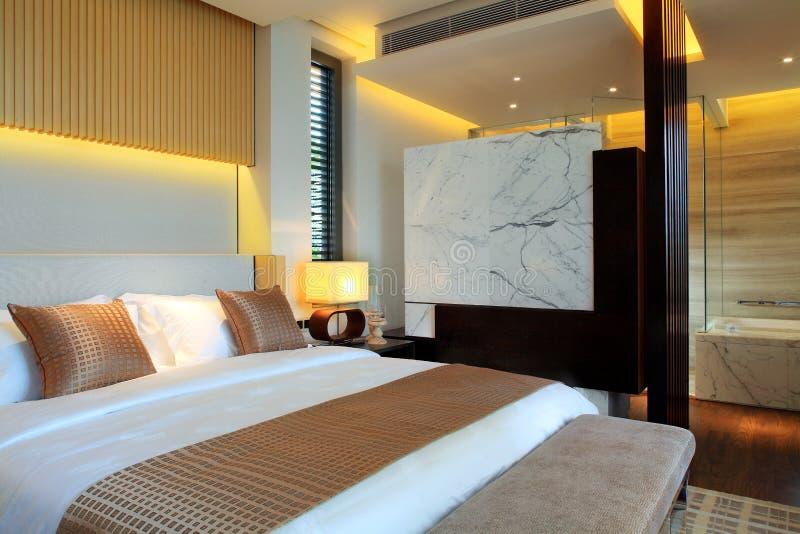¼ Œ de roomsï de l'hôtel de luxe de la Chine photo libre de droits