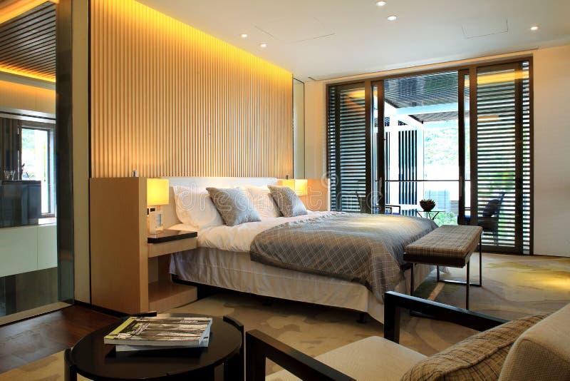 ¼ Œ de roomsï de l'hôtel de luxe de la Chine images libres de droits