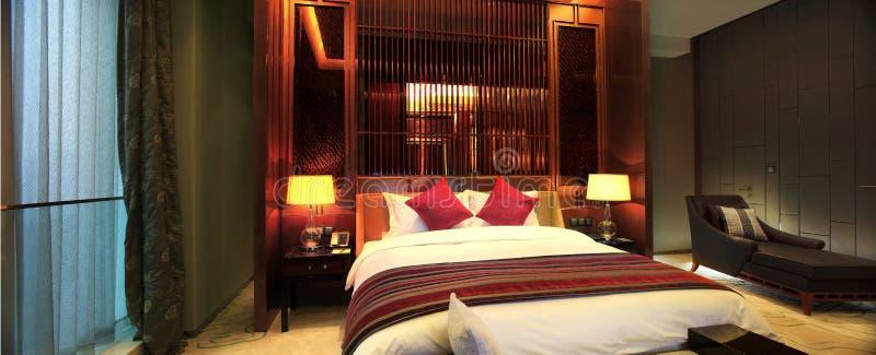 ¼ Œ do roomsï do hotel de luxo de China imagem de stock royalty free