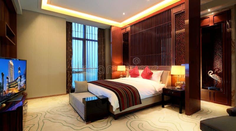 ¼ Œ do roomsï do hotel de luxo de China imagem de stock