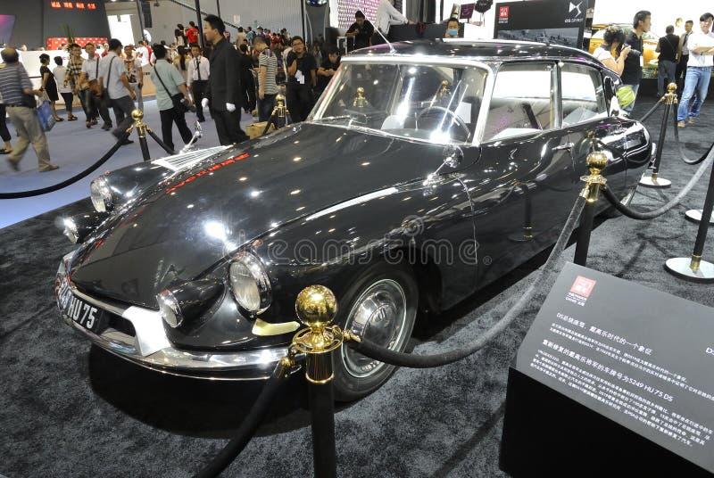 ¼ Œ5249 hu75, automobile di Citroen DS19ï di generale de Gaulle immagini stock libere da diritti