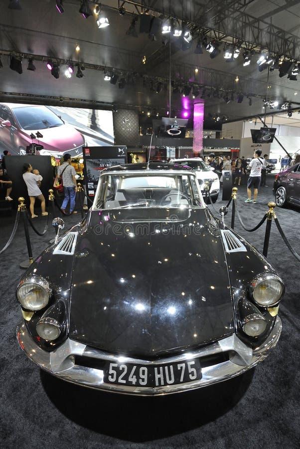 ¼ Œ5249 hu75, automobile di Citroen DS19ï di generale de Gaulle fotografia stock libera da diritti