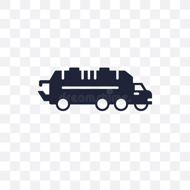 ściółki samochodowa przejrzysta ikona ściółka symbolu samochodowy projekt od Trans ilustracja wektor