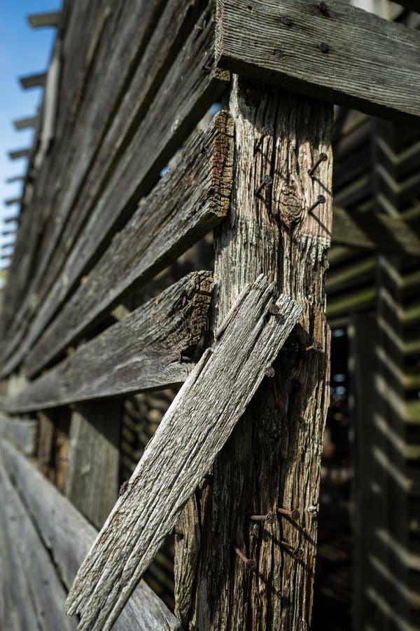 Ściąga drewno zdjęcia stock