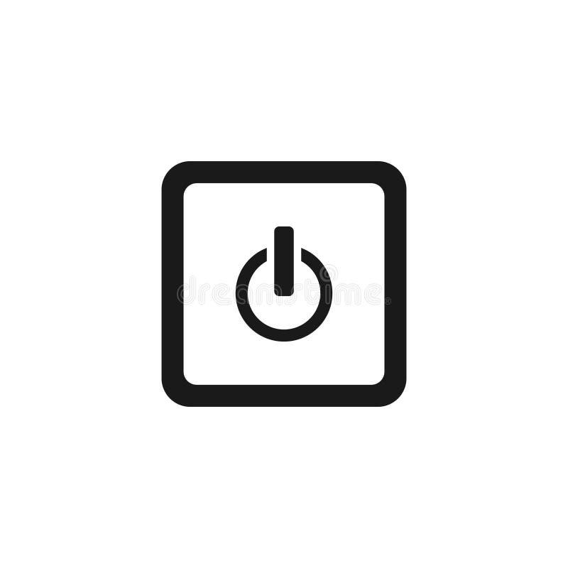Ściąganie i upload zapinamy wektorową ikonę na białym tle ilustracja wektor