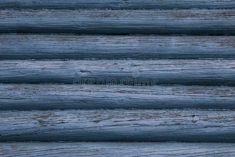 Ściana bela dom w błękicie zdjęcie royalty free