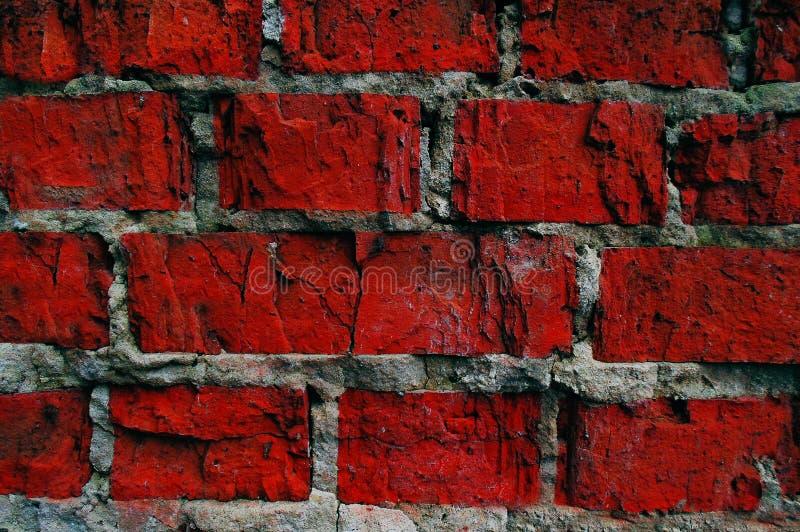 Ściana czerwień kamienia tło obrazy stock