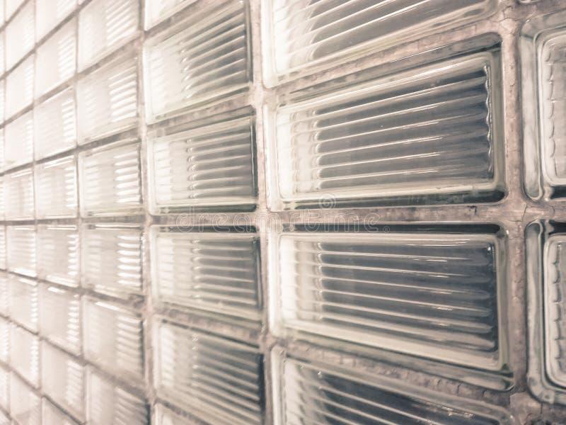 Ściana gęsty oszroniejący szkło zdjęcia royalty free