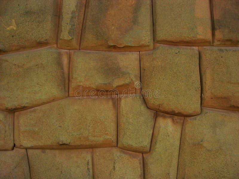 ściana inków Peru obrazy stock