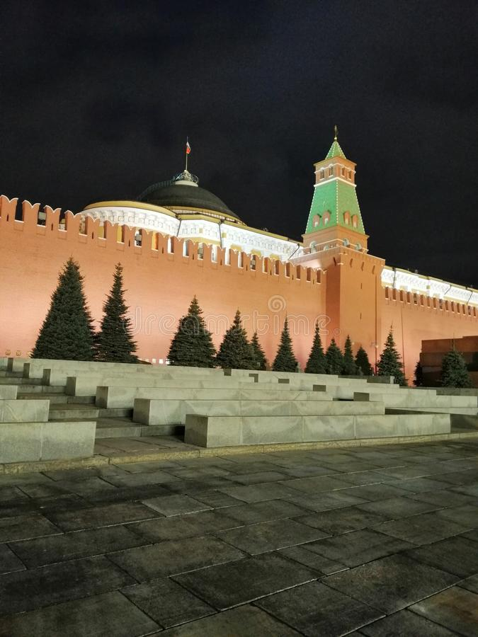 Ściana Kremlin zdjęcie stock
