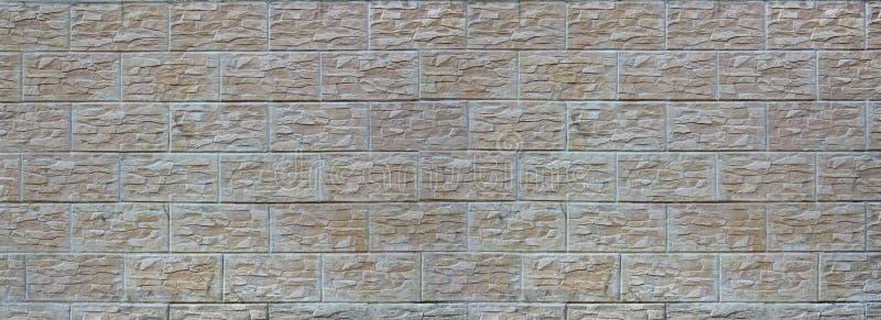 Ściana lekkie tekstur płytki, stylizowana w pojawieniu jako cegła Jeden typ ścienny decoratio obrazy royalty free