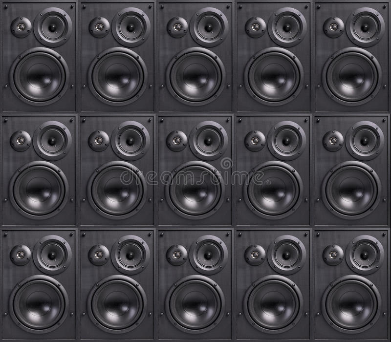 Ściana mówcy obrazy stock