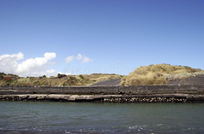 ściana morska zdjęcia stock